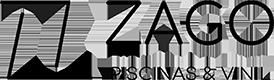 Zago Piscinas & Vinil Logo